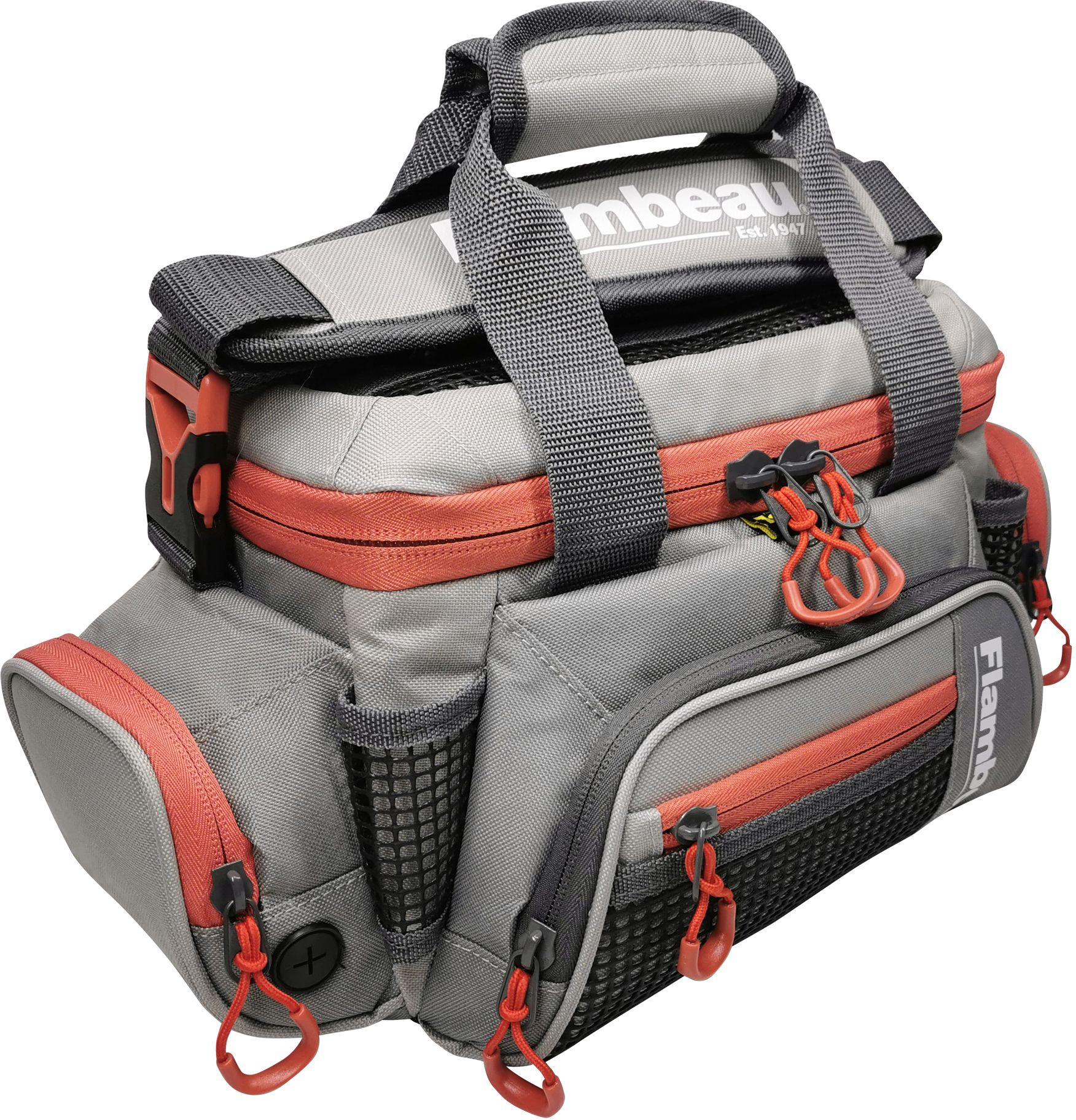 Flambeau Pro-Angler 5007 Tackle Bag, Grey/red