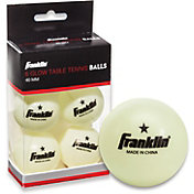 Franklin Glow In the Dark Table Tennis Balls