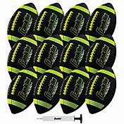 Franklin Grip Rite 100 Junior Football 12 Pack