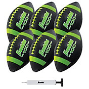 Franklin Grip Rite 100 Junior Football 6 Pack