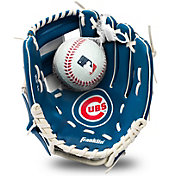 Franklin Youth Chicago Cubs Teeball Glove and Ball Set