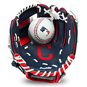 Franklin Youth Cleveland Indians Teeball Glove and Ball Set