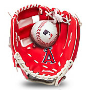 Franklin Youth Los Angeles Angels Teeball Glove and Ball Set