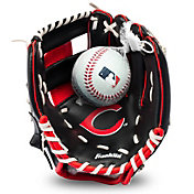 Franklin Youth Cincinnati Reds Teeball Glove and Ball Set