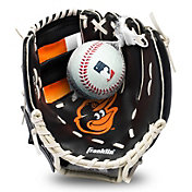 Franklin Youth Baltimore Orioles Teeball Glove and Ball Set