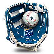 Franklin Youth Kansas City Royals Teeball Glove and Ball Set