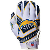 Franklin Youth Los Angeles Chargers Receiver Gloves