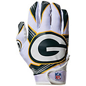 Franklin Youth Green Bay Packers Receiver Gloves