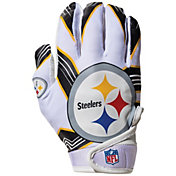 Franklin Youth Pittsburgh Steelers Receiver Gloves