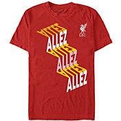 Fifth Sun Men's Liverpool FC Red Slinky Allez T-Shirt