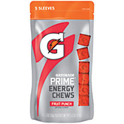 Gatorade Prime Energy Chews Fruit Punch