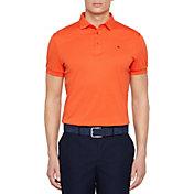 J.Lindeberg Men's Stan Club Pique Golf Polo
