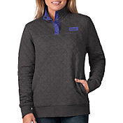 G-III For Her Women's Baltimore Ravens Quillted Black Pullover