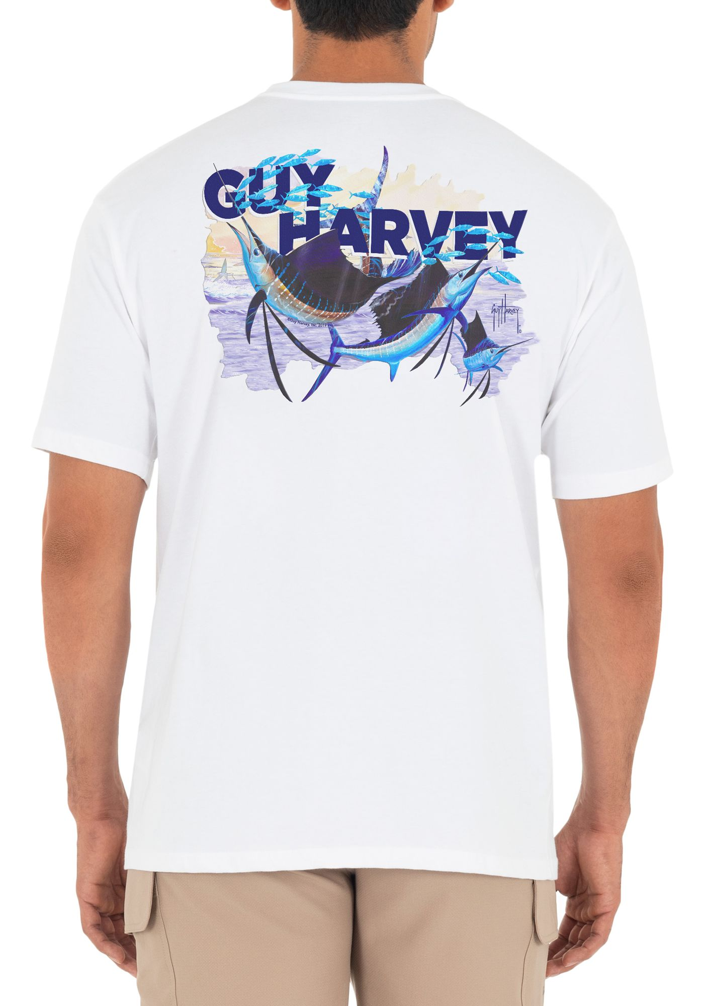 Guy Harvey Men's Offshore Haul Sailfish Short Sleeve T-Shirt
