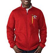 G-III Men's Kansas City Chiefs Fast Track Red Full-Zip Jacket