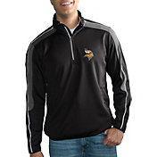 G-III Men's Minnesota Vikings I-Form Quarter-Zip Black Pullover Jacket