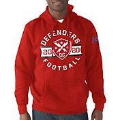 G-III Men's XFL DC Defenders Circle Red Hoodie
