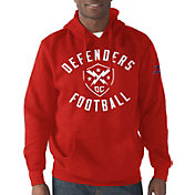 G-III Men's XFL DC Defenders Rookie Pullover Red Hoodie