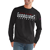 G-III Men's XFL New York Guardians Halftime Long Sleeve Black Shirt