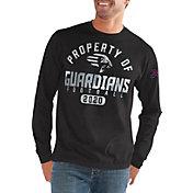 G-III Men's XFL New York Guardians 'Property Of' Long Sleeve Black T-Shirt