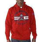 G-III Men's XFL Houston Roughnecks Circle Red Hoodie