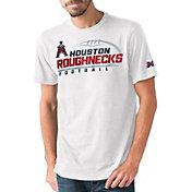 G-III Men's XFL Houston Roughnecks Primetime White T-Shirt