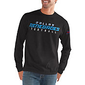 G-III Men's XFL Dallas Renegades Halftime Long Sleeve Black Shirt