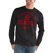 G-III Men's XFL Los Angeles Wildcats 'Property Of' Long Sleeve Black T-Shirt