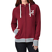 G-III For Her Women's Alabama Crimson Tide Crimson Onside Full-Zip Hoodie