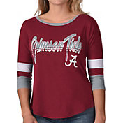 G-III For Her Women's Alabama Crimson Tide Crimson Prospect ¾ Sleeve T-Shirt