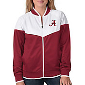 G-III For Her Women's Alabama Crimson Tide Crimson Wildcard Track Jacket