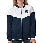 G-III For Her Women's Syracuse Orange Blue Wildcard Track Jacket