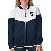 G-III For Her Women's Syracuse Orange Blue Wildcard Track Jacket