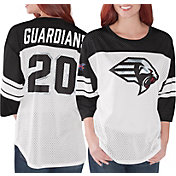 G-III Women's XFL New York Guardians Mesh Black Jersey Top