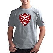 G-III Youth XFL DC Defenders Logo Grey T-Shirt