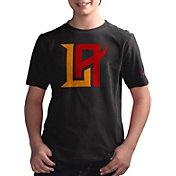 G-III Youth XFL Los Angeles Wildcats Logo Black T-Shirt