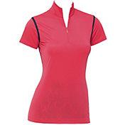 EP Pro Women's Cap Sleeve Convertible ½ Zip Golf Polo