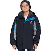 Gerry Boys' Blizzard Stretch 3-in-1 Systems Jacket and Beanie Set