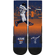 Strideline Houston Astros Jose Altuve Action Crew Socks