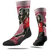 Strideline Alabama Crimson Tide Mascot Crew Socks