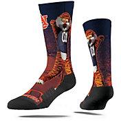 Strideline Auburn Tigers Mascot Crew Socks
