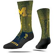 Strideline Michigan Wolverines Mascot Crew Socks