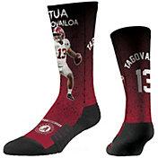 Strideline Alabama Crimson Tide Tua Tagovailoa Throw Crew Socks
