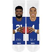 Strideline Dallas Cowboys Elliott/Prescott Crew Socks