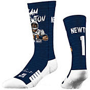 Strideline New England Patriots Cam Newton #1 Action Crew Socks