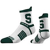 Strideline Women's Michigan State Spartans Striped Socks