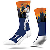 Strideline Youth Houston Astros Alex Bregman Superhero Crew Socks