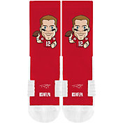 Strideline Youth Tampa Bay Buccaneers Tom Brady Emoji Socks