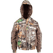 Habit Youth Cedar Branch Insulated Waterproof Bomber Hunting Jacket