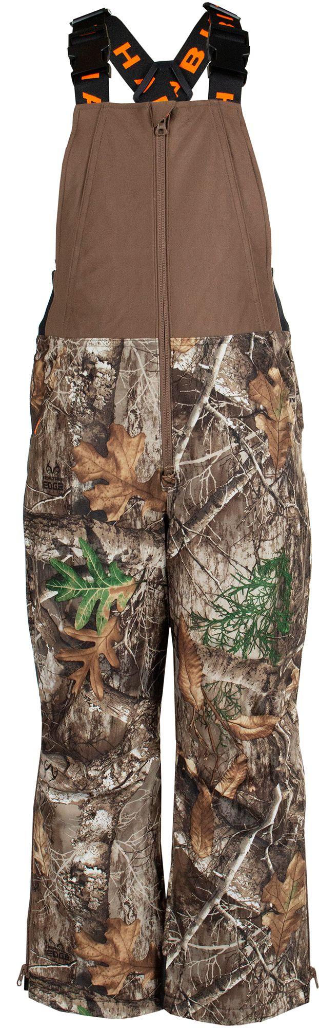 Habit Youth Cedar Branch Insulated Waterproof Hunting Bib, Kids, YS, Multi thumbnail
